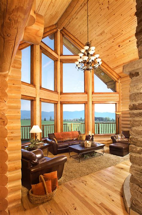 at home interiors log home interiors yellowstone log homes