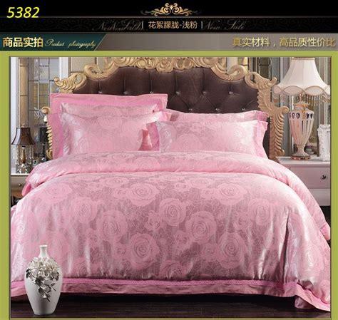 light pink comforter light pink silk bedding sets jacquard bed linens