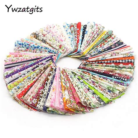 ywzatgits multi style printed patchwork cotton fabric