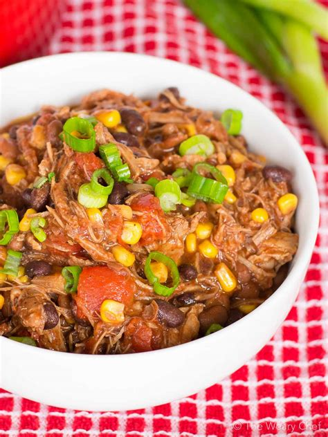 Leftover's do not have to be boring! Easy Pork Chili Recipe - The Weary Chef