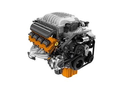supercharged hellcat  engine detailed video