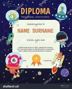 Preschool Elementary School Kids Diploma Certificate,The ...