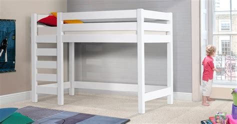 white storage bed king high sleeper loft bed get laid beds