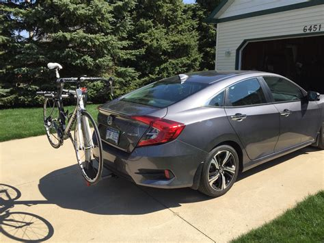 bike rack for hatchback honda civic hatchback bike rack 2017 2018 honda reviews