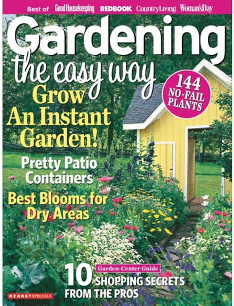 garden magazines t h e v i s u a l v a m p gardening the easy way