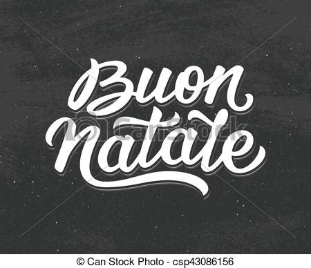 clipart buon natale buon natale lettering merry in italian merry
