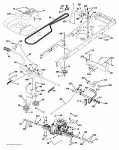 Husqvarna Mower Drive Belt Diagram