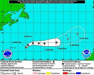 Tropical Storm Gordon forms but not expected to threaten U ...