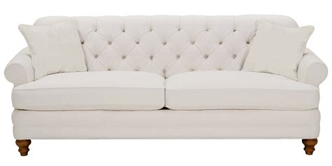 Tufted Apartment Sofa by Fabric Upholstered Rolled Arm Button Back Sofa Set Club