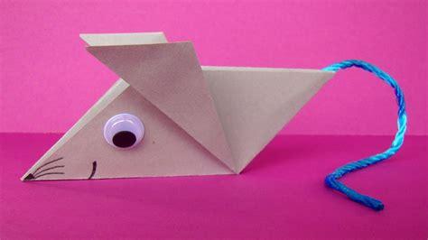 tiere aus papier falten origami maus falten einfache origami tiere aus papier basteln mit kindern viyoutube