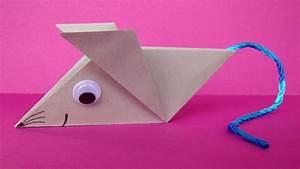 Basteln Aus Papier : origami maus falten einfache origami tiere aus papier basteln mit kindern youtube ~ A.2002-acura-tl-radio.info Haus und Dekorationen