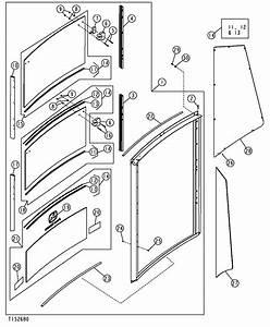 Broke All 3 Rear Windows In A Deere 310 Sg Backhoe  How Do