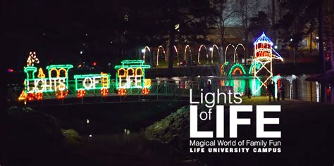 light of life lights of life at life university youtube