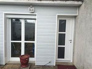 installation de porte fenetre pvc sur mesure en renovation With installation fenetre pvc