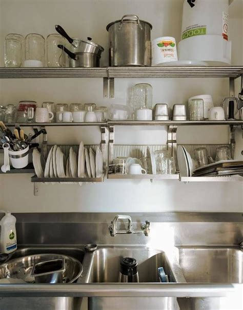 ultimate budget storage  kitchens  ikeas grundtal rail system kitchen shelves kitchen