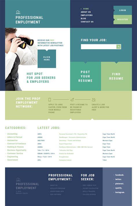 human resources joomla template  behance
