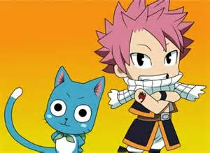 Chibi Fairy Tail Natsu Dragon