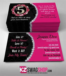 5 bling jewelry business cards style 1 kz swag shop