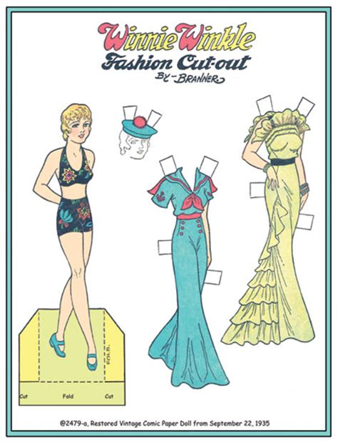 Paper Dolls Of Classic Stars, Vintage Fashion And