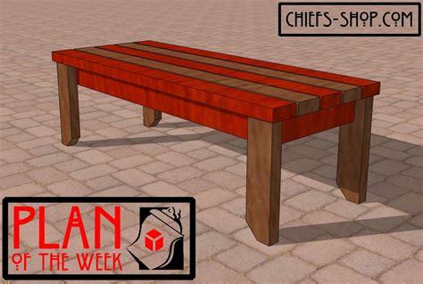 chiefs shop plan   week  bench kreg owners
