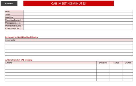 itil change management toolkit cab