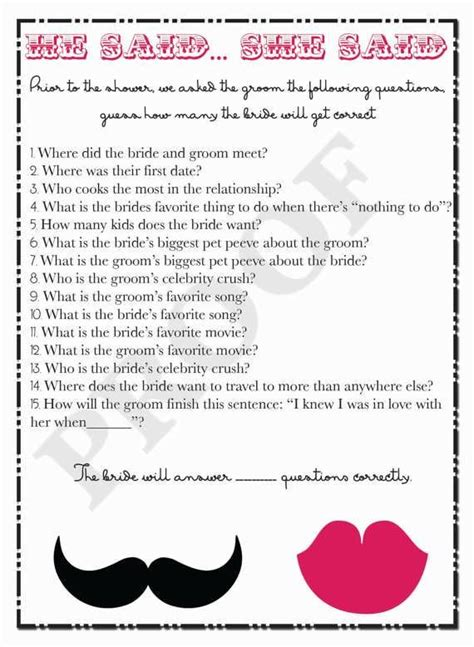 wedding shower questions 15 best ideas about newlywed questions on