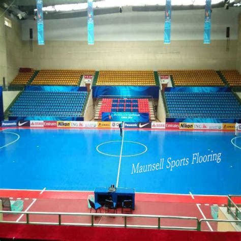 Interlock Floring Futsal china indoor pvc and pp interlock sports floor for soccer