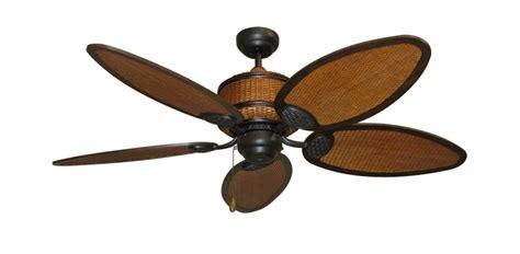 52 Inch Cane Isle Tropical Ceiling Fan