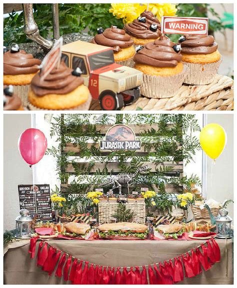 birthday party ideas for popsugar jurassic park party popsugar