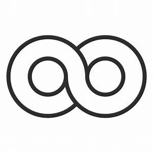 Infinity logo infinite - Transparent PNG & SVG vector