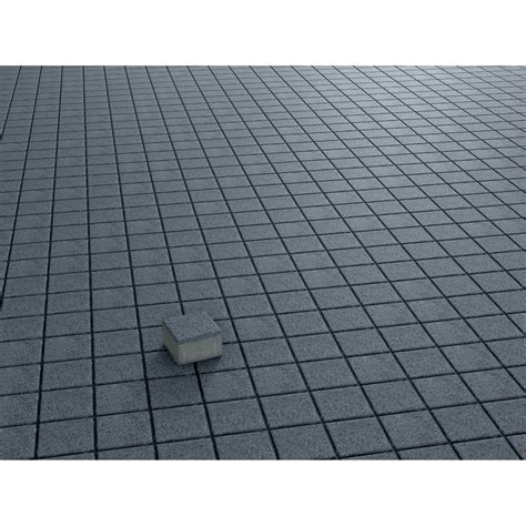 quadrat pflaster beton anthrazit gewaschen  cm   cm