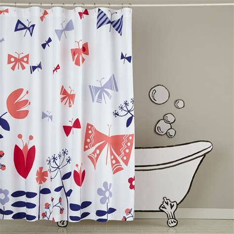 shower curtains and bath mats the land of nod - Land Of Nod Shower Curtain