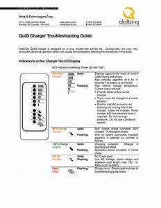 Quiq Charger Troubleshooting Guide