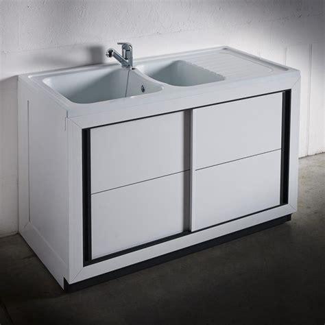evier cuisine à poser sur meuble composite normandie 1200 x 600 mm boutique pro carea