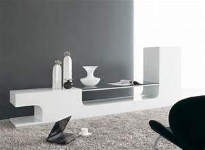 Meuble Tv C Discount : meuble tv bas design discount ~ Teatrodelosmanantiales.com Idées de Décoration