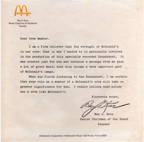 application letter sle application letter sle mcdonalds