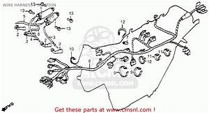Honda Cb650 1979 Usa Wire Harness    Ignition