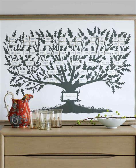 martha stewart tree instructions make a family tree martha stewart