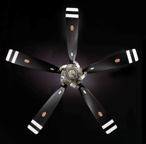 Hartzell Airplane Propeller Ceiling Fan by Aluminum Propellers Turboprop Engine Aircraft Hartzell