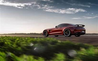 Amg Mercedes Gt Benz Rear Cars Speed