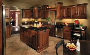 Best paint color for kitchen with dark cabinets decor for Best paint color for kitchen with dark cabinets