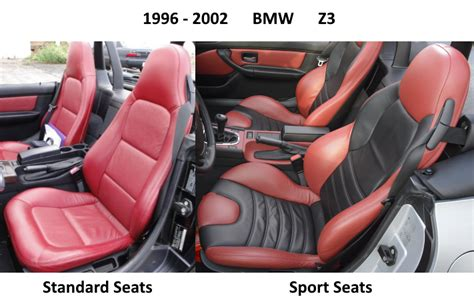 1996-2002 Bmw Z3 Synthetic Leather Seat Covers For