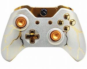 Gold Thunder Xbox One Controller, Gold, Free Engine Image ...