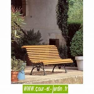 Banc De Jardin En Fonte : banc de jardin fonte bois bois et fonte banc ancien banc en fonte ~ Farleysfitness.com Idées de Décoration
