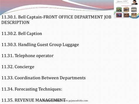 Telephone Operator Description Duties by Front Office Management Book