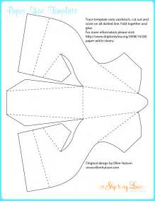 Witch Shoe Cut Out Templates