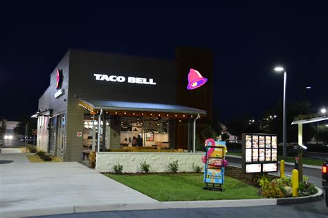taco bell restaurant central contractors state certified