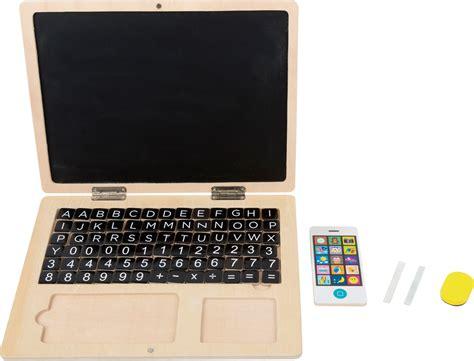 holz laptop mit magnet tafel lerntafeln basteln und