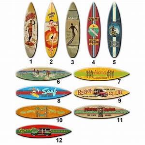 Planche Surf Deco : planche de d coration de surf en bois olatu d coration ~ Teatrodelosmanantiales.com Idées de Décoration