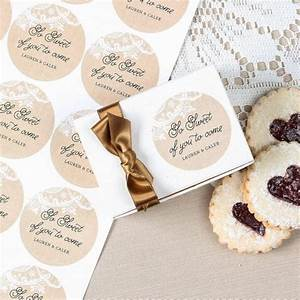 personalized round wedding labels With custom stickers for wedding favors